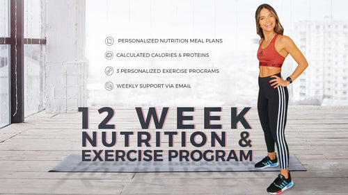 12 Week Personalized Nutrition And Exercise Program