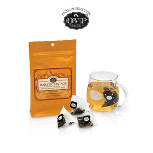 OVP® MAJESTIC VINTAGE® raw PuEr Tea 10 years Vintage made in Singapore