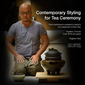 Contemporary Styling for Tea Ceremony