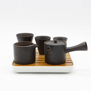 """Matte-a-Black"" Tea Set"