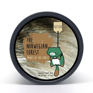The Norwegian Forest - Prince of the Forest Tea Tin (Nomadx)