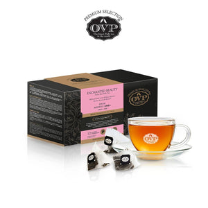 OVP® ENCHANTED BEAUTY® raw PuEr Tea 7 years vintage made in Singapore