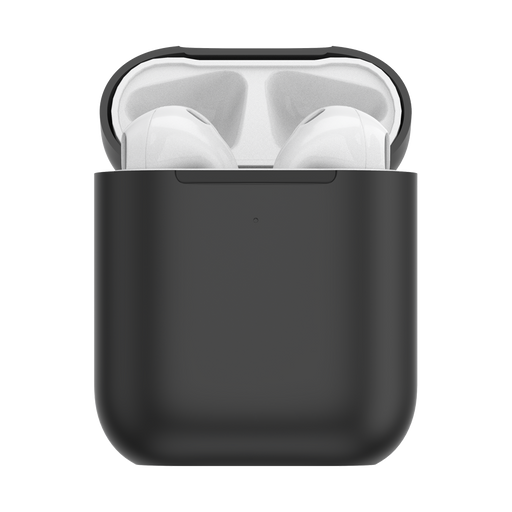 AirPods Holder Black + PopChain Premium Gunmetal