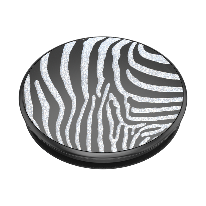 Embossed Metal Zebra