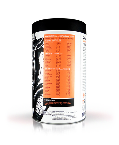 Blend 02 Organic Sacha Inchi Protein (Naturally Sweetened)