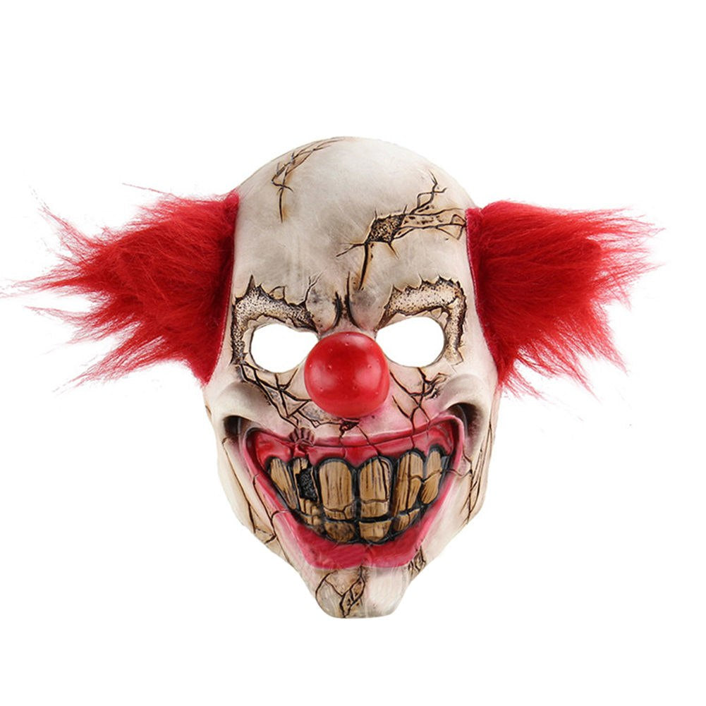scary clown mask halloween costume