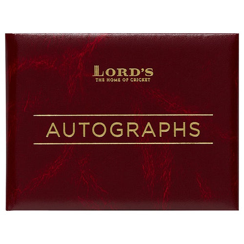 LORD'S AUTOGRAPH BOOK