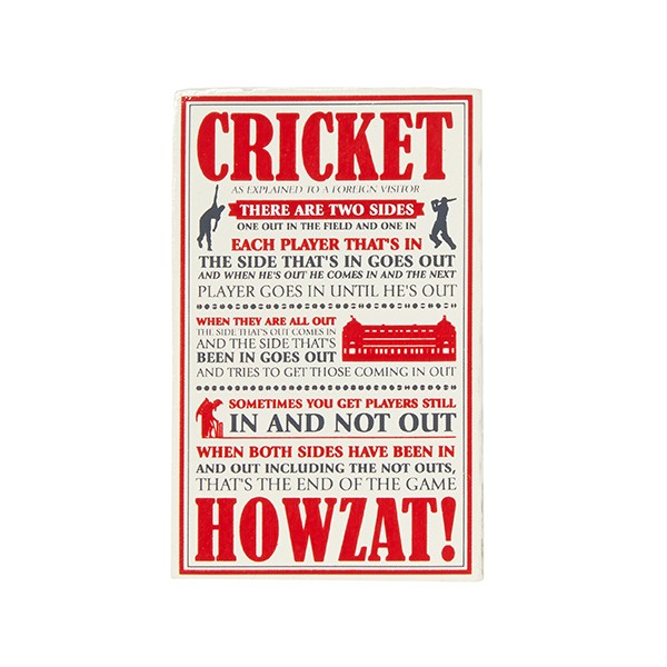 LORD'S CRICKET EXPLAINED MAGNET