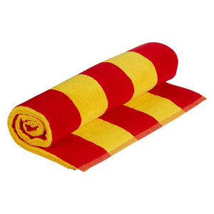 FULL COLOUR STRIPE BEACH TOWEL