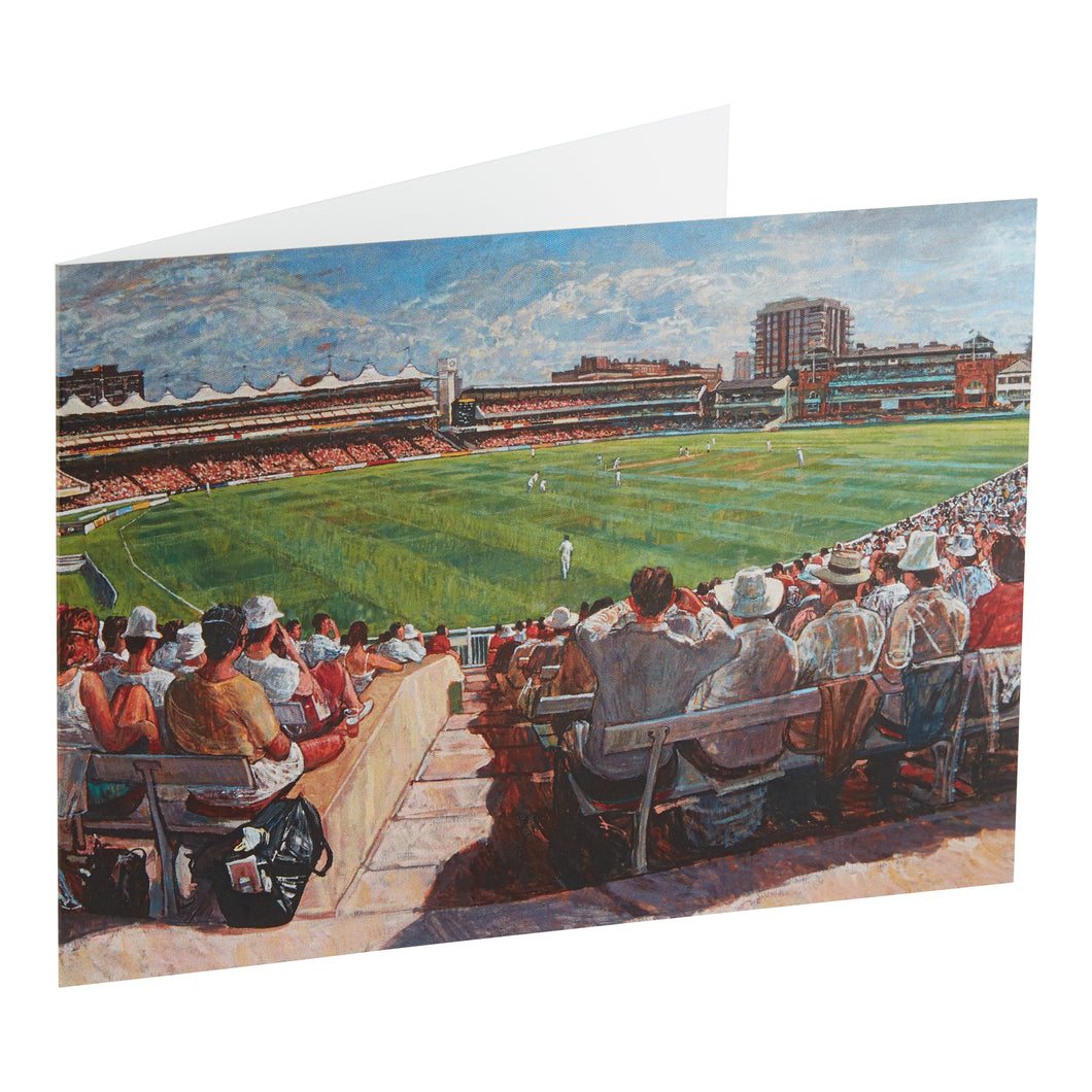 MCC v REST OF THE WORLD, MCC BICENTENARY MATCH, 1987 - GREETING CARD & ENVELOPE