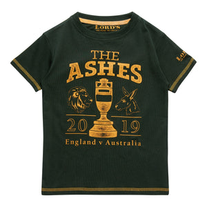 LORD'S ASHES URN BOTTLE/YELLOW CHILDREN'S T-SHIRT