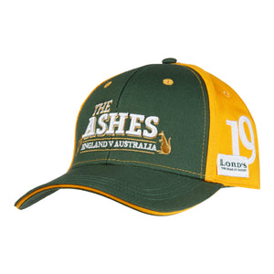 LORD'S ASHES URN GREEN/YELLOW ADULT'S CAP