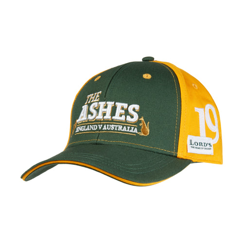 LORD'S ASHES URN GREEN/YELLOW CHILDREN'S CAP
