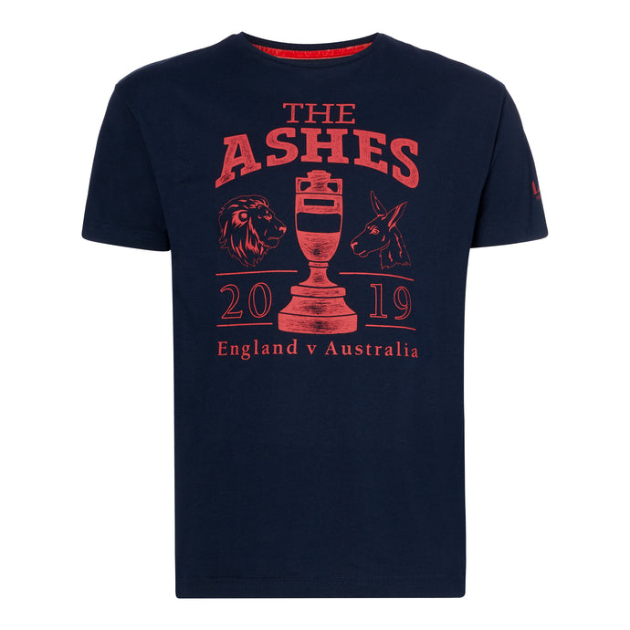LORD'S ASHES URN NAVY/RED T-SHIRT