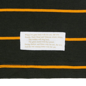 LORD'S ASHES URN BOTTLE/YELLOW STRIPED POLO SHIRT