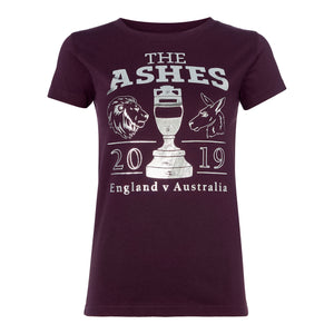 LORD'S ASHES URN BERRY/SILVER T-SHIRT