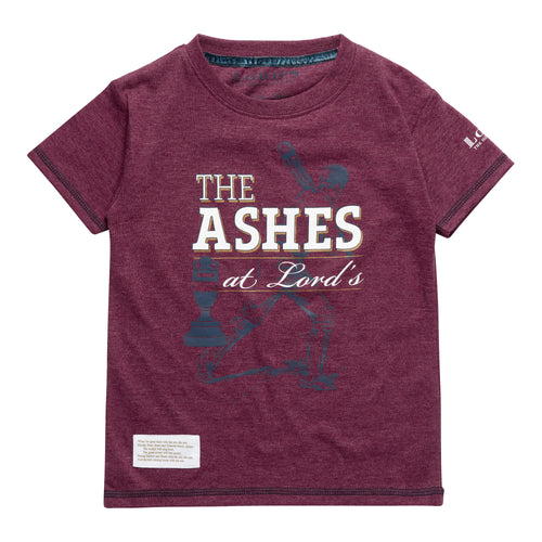LORD'S ASHES URN BURGUNDY CHILDREN'S T-SHIRT