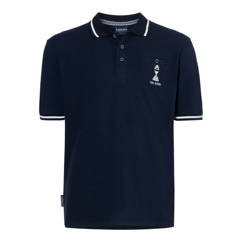 LORD'S ASHES URN NAVY/WHITE POLO SHIRT