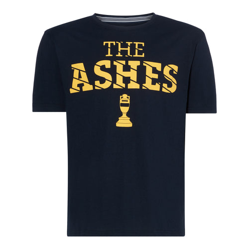 LORD'S ASHES URN PUFF PRINT NAVY/YELLOW T-SHIRT