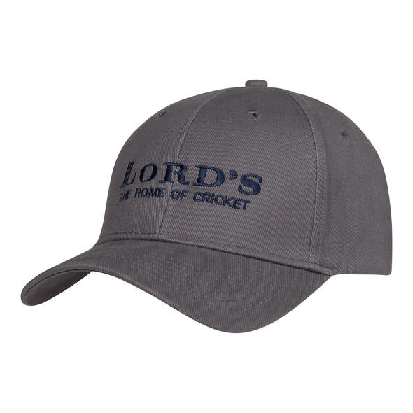 LORD'S ADULT CLASSIC CAP GREY
