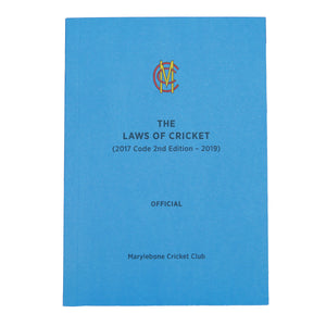 MCC THE LAWS OF CRICKET (2017 Code 2nd Edition - 2019) OFFICIAL