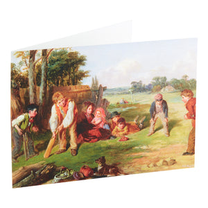 THE VILLAGE TEAM, 1856 - GREETING CARD & ENVELOPE