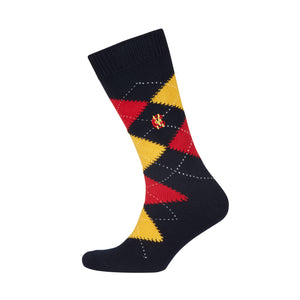 MEN'S ARGYLE EGYPTIAN COTTON SOCK
