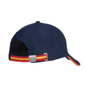 CLASSIC CAP WITH EGG & BACON PIPED PEAK & BACK STRAP