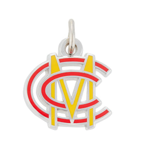 ENAMELLED MONOGRAM CHARM