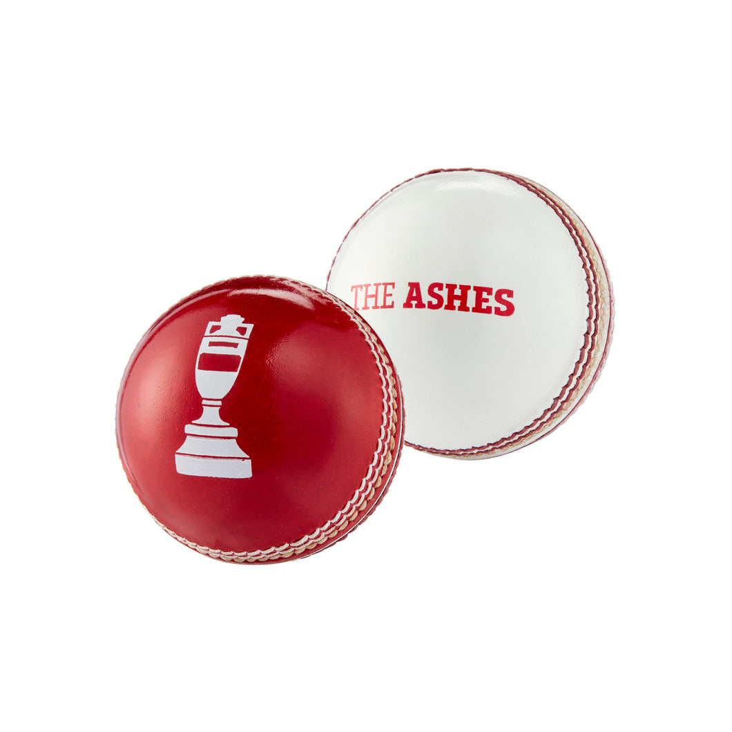LORD'S ASHES URN MINI BALL IN RED & WHITE