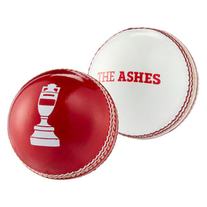 LORD'S ASHES URN SOUVENIR BALL IN RED & WHITE