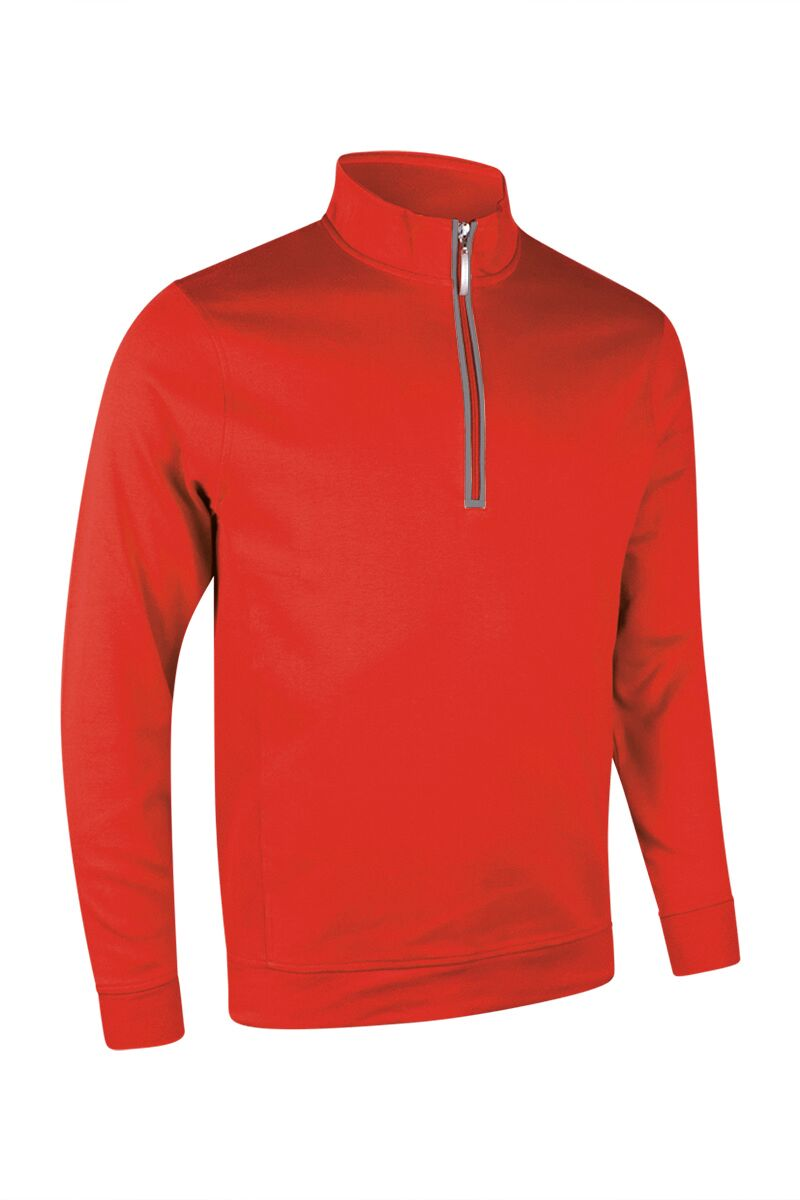 MEN'S PERFORMANCE ZIP NECK LONG-SLEEVED MIDLAYER - 'ARTEMIS'