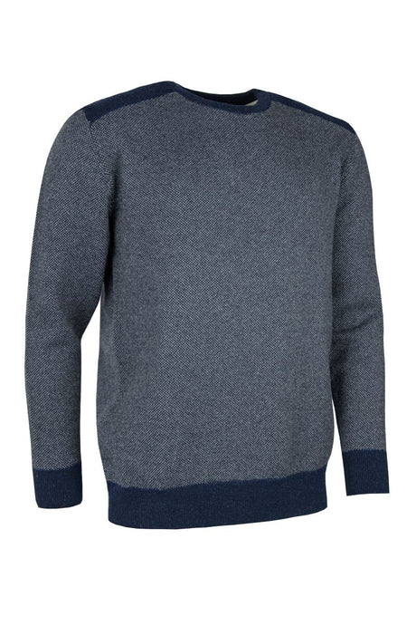 MEN'S LAMBSWOOL CREW NECK SWEATER - 'GRAHAM'