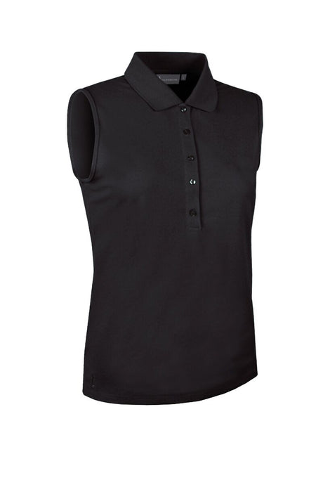 LADIES' PERFORMANCE SLEEVELESS PIQUÉ POLO SHIRT - 'JENNA'
