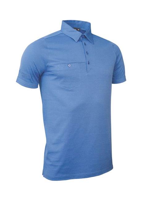 MEN'S CHEST POCKET PERFORMANCE COTTON POLO SHIRT - 'LOWTHER'