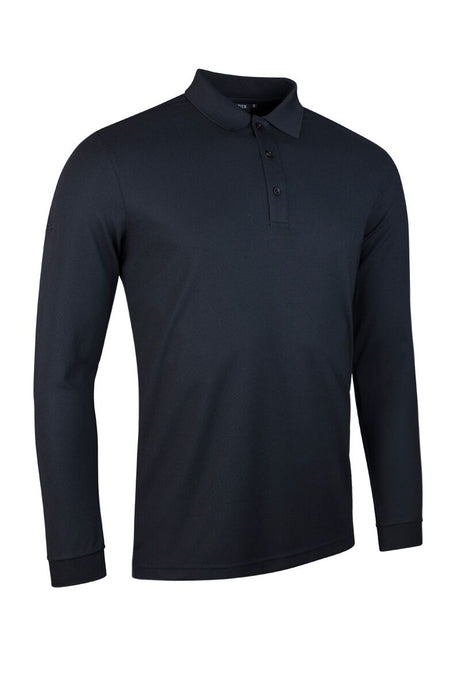 MEN'S LONG SLEEVE PERFORMANCE PIQUÉ POLO SHIRT - 'MAX'