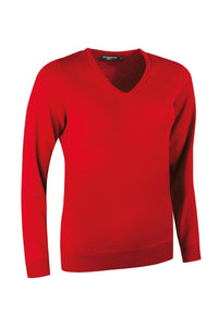LADIES' V-NECK MERINO WOOL SWEATER - 'MAYA'