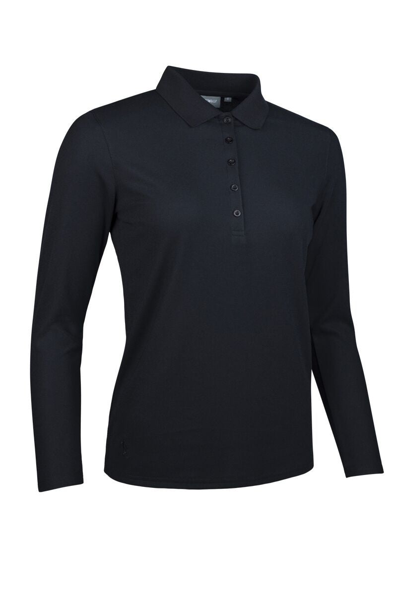 LADIES' LONG SLEEVE PERFORMANCE PIQUÉ POLO SHIRT - 'MISHA'