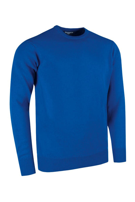 MEN'S LAMBSWOOL CREW NECK SWEATER - 'MORAR'