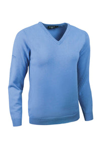 LADIES' V-NECK LAMBSWOOL SWEATER - 'NINA'