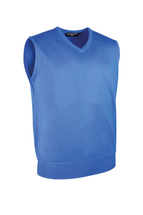 MEN'S V-NECK MERINO WOOL SLIPOVER - 'RANKIN'