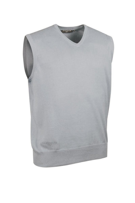 MEN'S V-NECK COTTON SLIPOVER - 'THORNTON'
