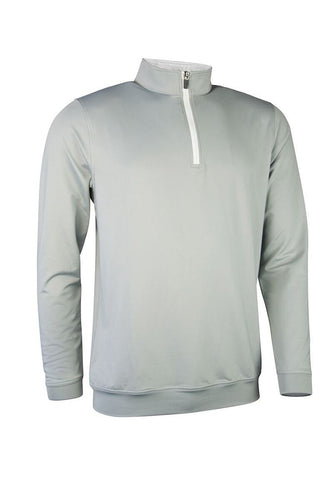 MEN'S PERFORMANCE ZIP NECK LONG-SLEEVED MIDLAYER - 'WICK'