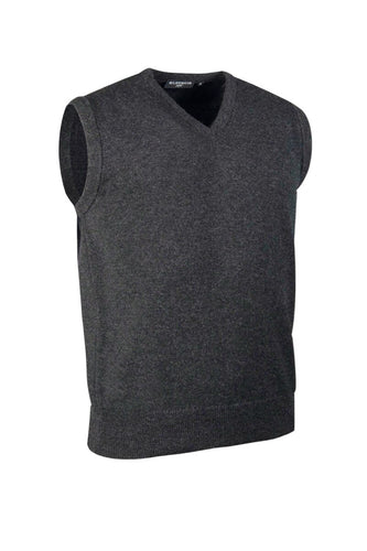 MEN'S LAMBSWOOL V-NECK SLIPOVER - 'WINDERMERE'