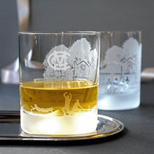 MCC WHISKY GLASS TUMBLERS - ONE PAIR