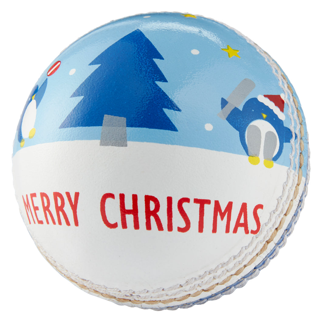 LORD'S 'MERRY CHRISTMAS' SOUVENIR CRICKET BALL