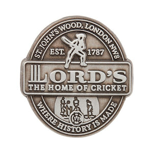 LORD'S HERITAGE LAPEL PIN