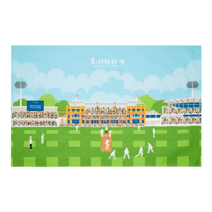 LORD'S PAVILION TEA TOWEL
