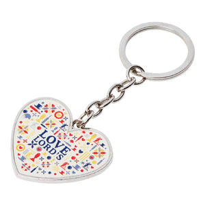 LOVE LORD'S KEYRING