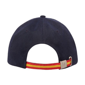 CLASSIC CAP WITH FULL COLOUR PEAK AND STRAP